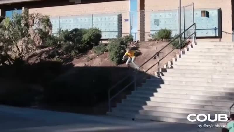 10 YEAR OLD VS EL TORO 20 STAIR RAIL