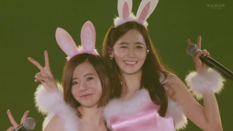 YoonA Sunny Sugar Girls' Generation 4th Tour Phantasia in Japan
