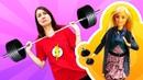 Барби науроке физкультуры— Сериал ШКОЛА— Видео скуклами для девочек— Барби иТереза подрались!