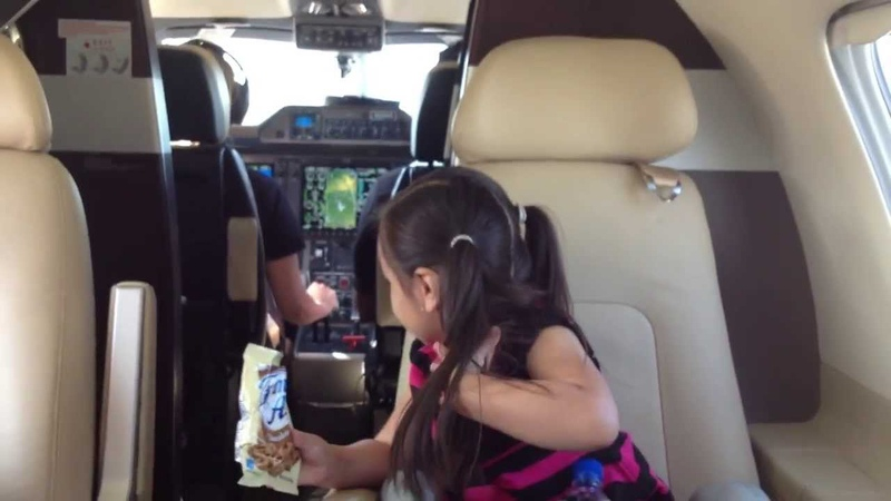 Empty Leg VNY to SBA on an Embraer Phenom 100 to visit the zoo with the nieces