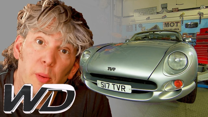 TVR Cerbera How To Replace The Suspension And Chassis Wheeler Dealers