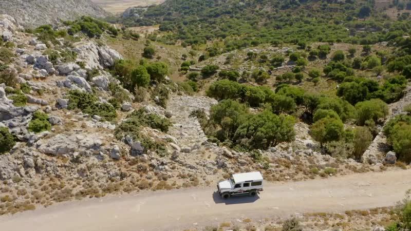 "The Greek Islands with Julia Bradbury Season 1 Episode 1 Crete"" itv 2020 UK ENG SUB ENG"