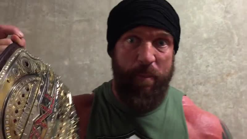 Eric Young reacts to attacking Jeff Jarrett