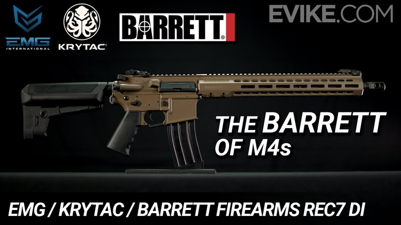 The BARRETT of M4s EMG KRYTAC BARRETT Firearms REC7 DI AEG