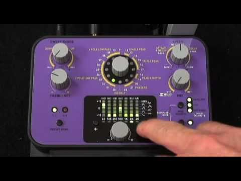 Dubstep and Electronica Bass Pedal Demo Soundblox Pro Bass Envelope Filter