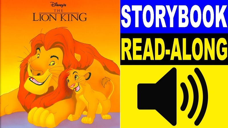 The Lion King Read Along Story book   The Lion King Storybook 2   Read Aloud Story Books for Kids