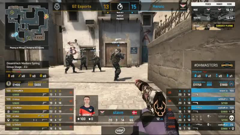 Heroic throwing the series due to fail defuse