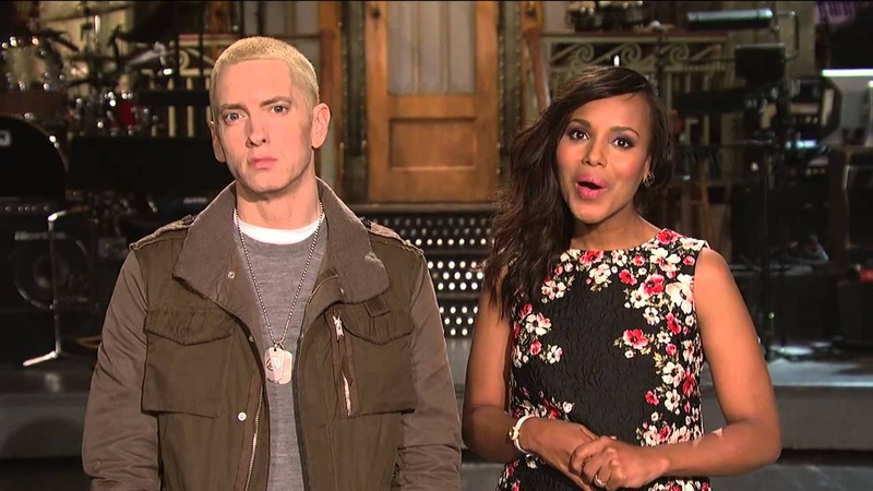 SNL Promo Kerry Washington and Eminem