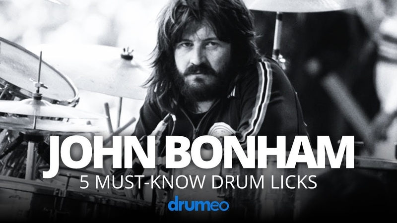 5 Must Know John Bonham Drum Licks Drum Lesson
