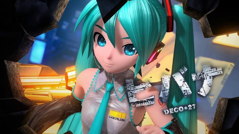 「4K 60 fps」 HIBANA ヒバナ DECO*27 feat Hatsune Miku Project DIVA Arcade Future Tone
