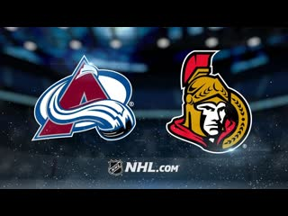 Colorado Avalanche vs Ottawa Senators | , 2020 | Game Highlights | NHL 2019/20 | Обзор матча