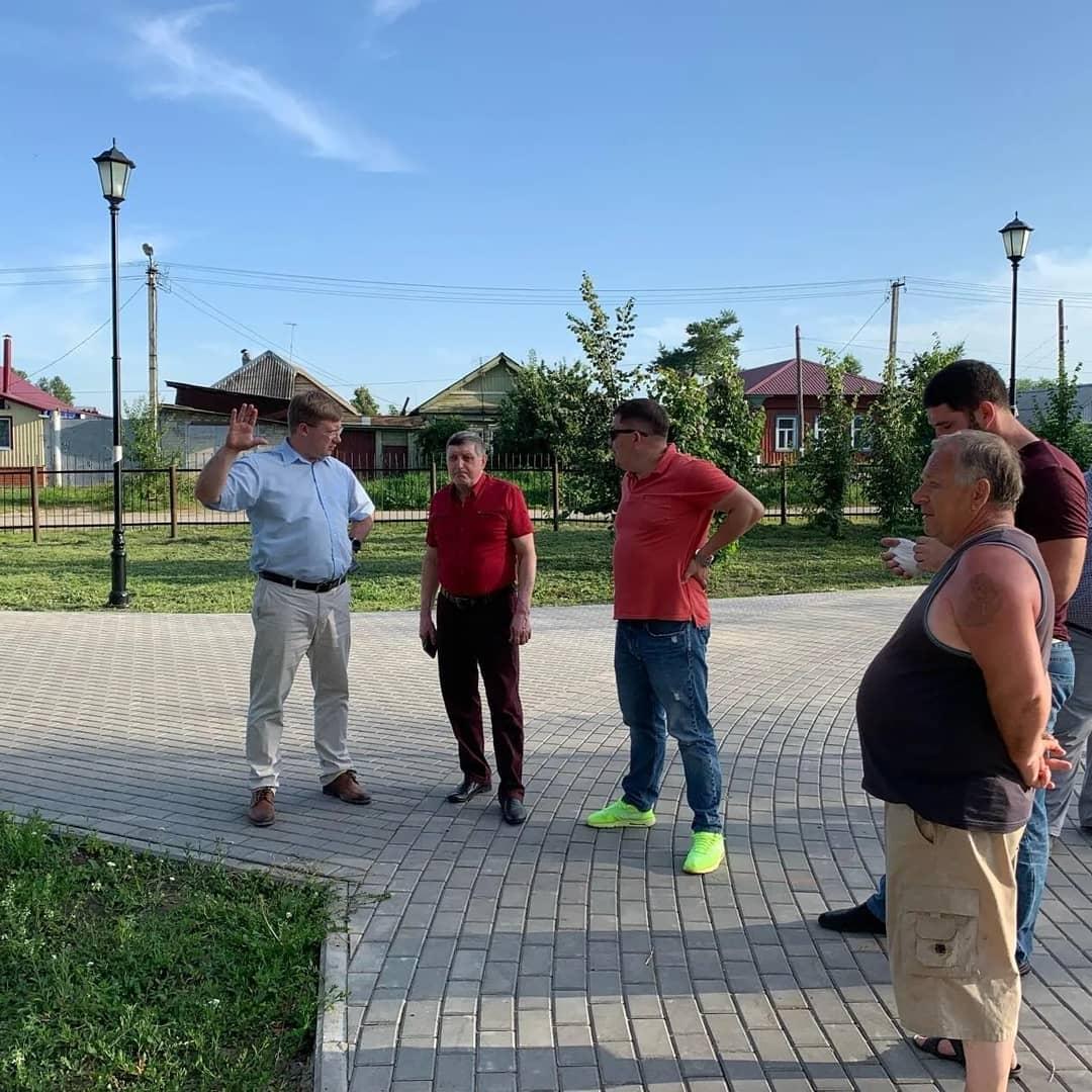 В городском парке Петровска начинается третий этап реконструкции и благоустройства территории