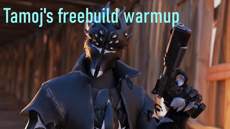 TAMOJ s FREEBUILD WARMUP in FORTNITE no ingame sound for chill keyboard mouse sounds