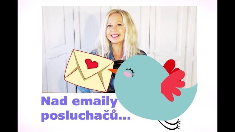 Krásný email od paní Věrky se kterým souzním za který děkuji a se kterým se chci s vámi podělit