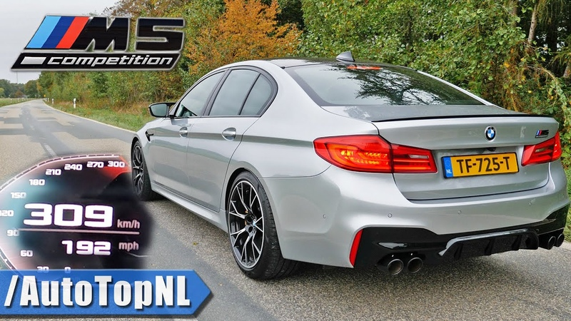 2020 BMW M5 F90 Competition 0 309KMH 0 192MPH ACCELERATION TOP SPEED by AutoTopNL