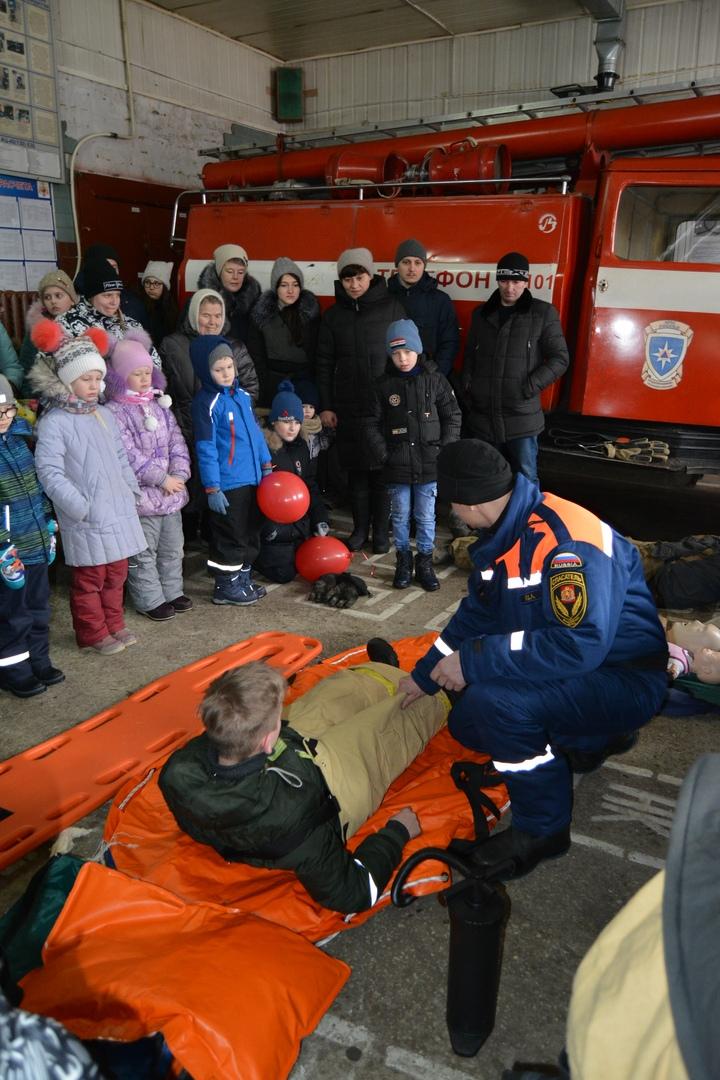 В Коврове прошел день открытых дверей посвященный 116-летнему дню рождения пожарного депо., изображение №22