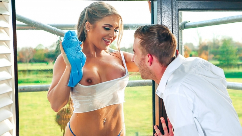 Alessandra Jane Danny D, Through a Glass Wetly