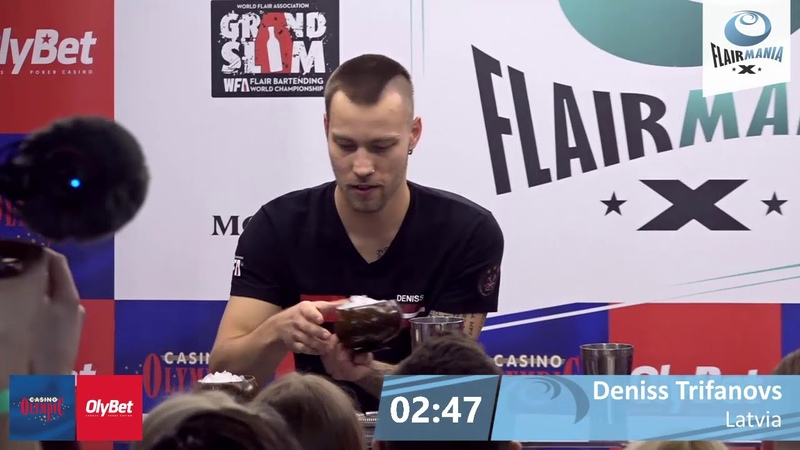 Deniss Trifanovs Latvia FINAL 2nd PLACE OlyBet Flair Mania 2020