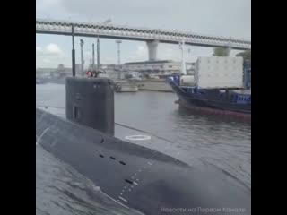 Новую подлодку приняли в состав ВМФ