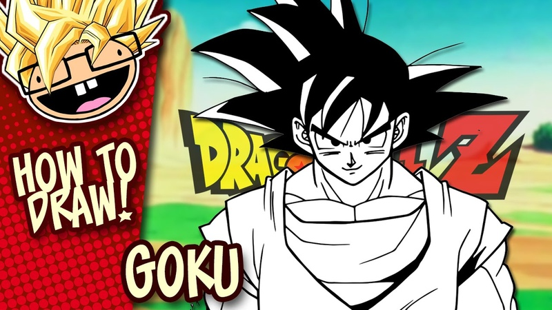 How to Draw GOKU Dragon Ball Z Easy Step by Step Drawing Tutorial Anime Thursdays