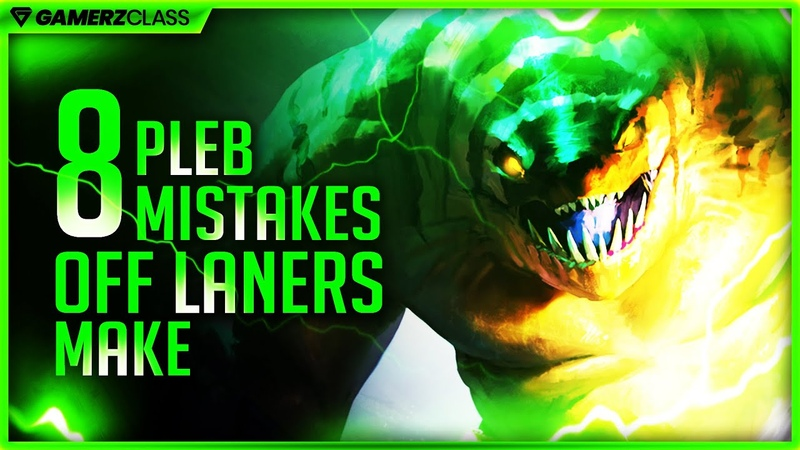 Don't Be An Off Lane Pleb 8 Common Mistakes at Low MMR Under 5K