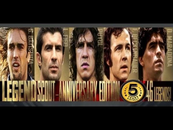 Legend Scout Anniversary Edition 1st Half Underway Pes Club Manager 2020 Part 58