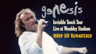 Genesis - Invisible Touch Tour   Live At Wembley Stadium 1080p HD