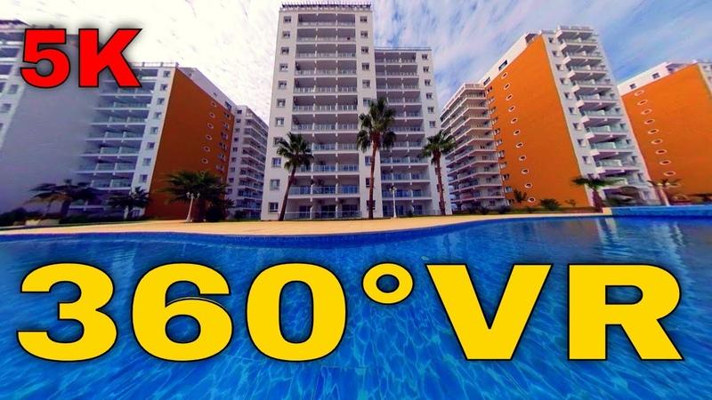 360° VR Caesar SPA Resort Walking Room Booking AirBnb Visit North Cyprus 5K 3D Virtual Reality HD 4K