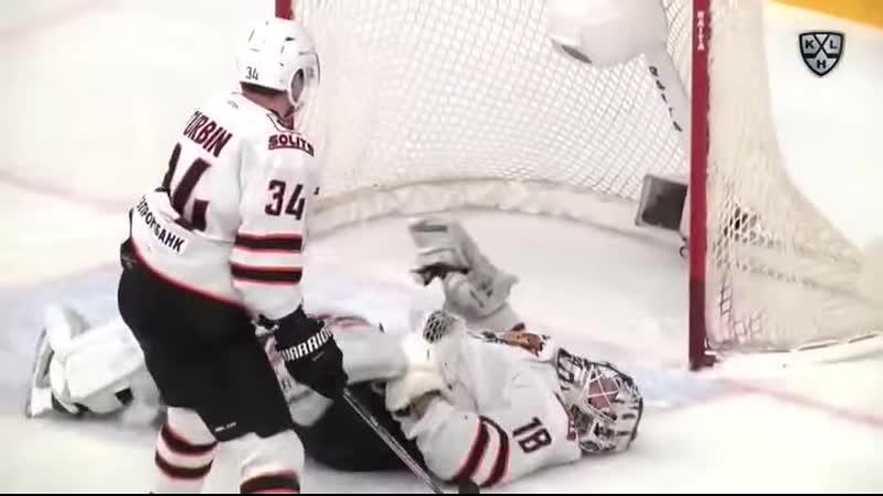 Заявка на лучший сейв сезона в КХЛ