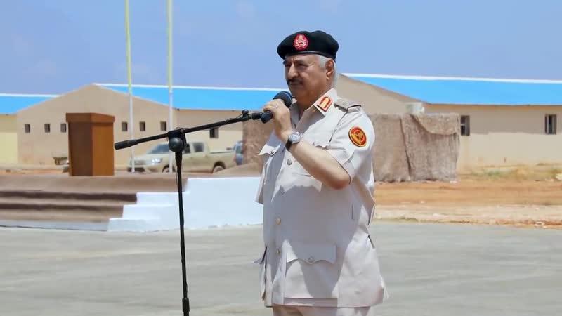 Помимо инспекционной поездки проведенной главнокомандующим маршалом Халифой Хифтаром был осмотрен ряд лагерей