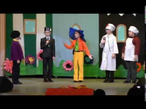 Приключения Незнайки и его друзей мюзикл для детей и родителей