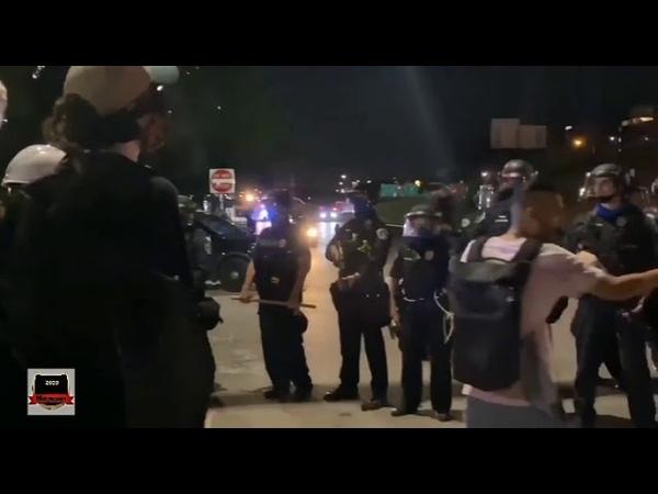 Беспорядки в Америке Портленд Сиэтл Остин Протесты протесты